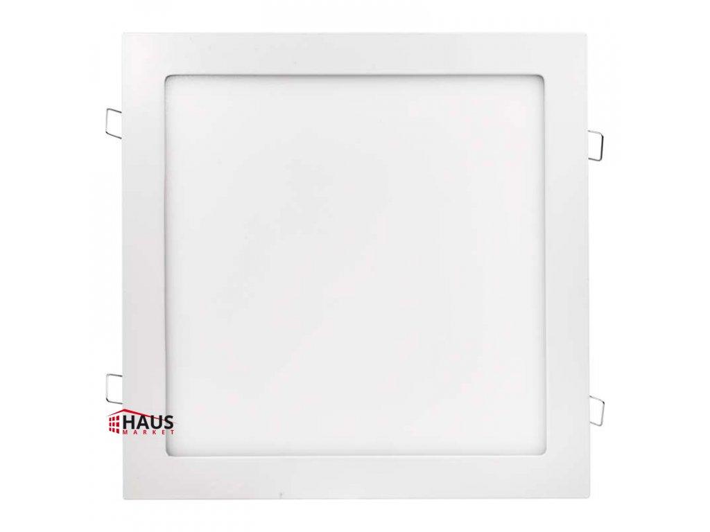 LED panel 300×300, štvorcový vstavaný biely, 24W teplá biela ZD2151