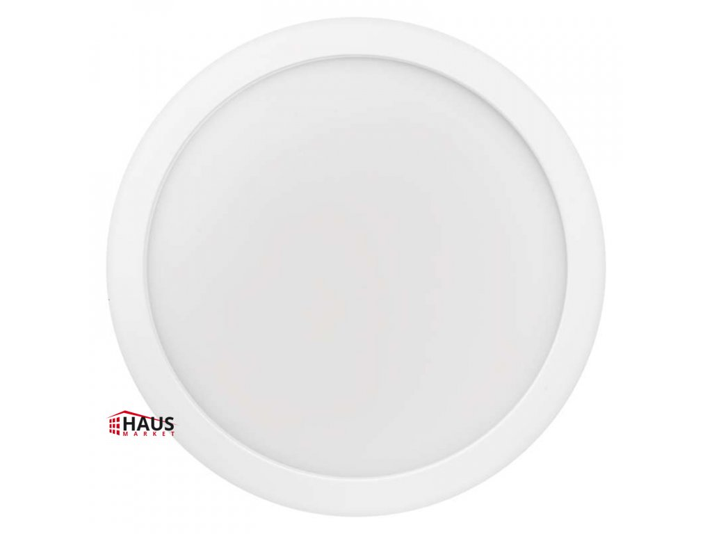 LED panel 300mm, kruhový prisadený biely, 24W teplá biela ZM5151