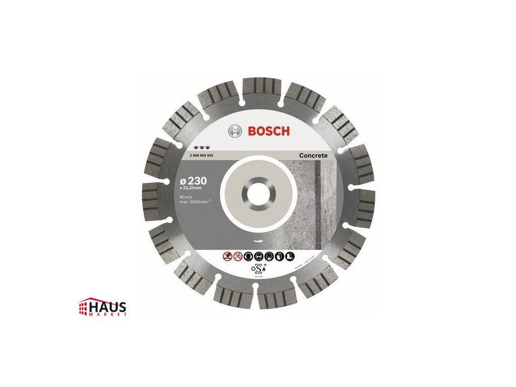 88129 bosch diamantovy kotuc 125 mm best for concrete 2608602652