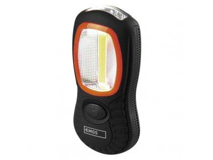 COB LED + LED pracovné svietidlo P3883, 150 lm, 3× AAA P3883