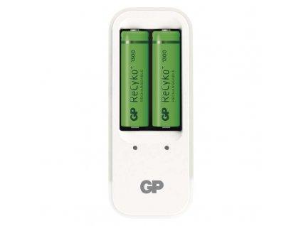 Nabíjačka batérií GP PB410 + 2× AA GP ReCyko+ 1300 mAh B0041