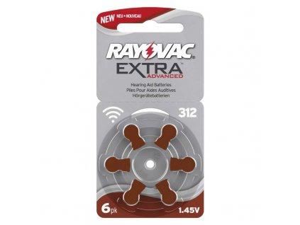 Batéria RAYOVAC V312AU/6 do načúvacích prístrojov 9RH312