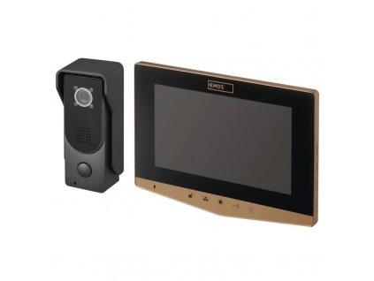 Sada videovrátnika EMOS H2031 s ukladaním snímkov H2031