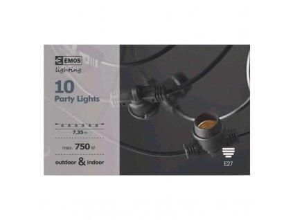 Spojovacia svetelná reťaz na 10 žiaroviek E27 ZY2294