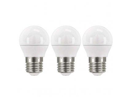 LED žiarovka Classic Mini Globe 6W E27 teplá biela ZQ1120.3