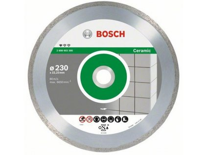 87985 bosch diamantovy kotuc 230 mm professional for ceramic 2608602205