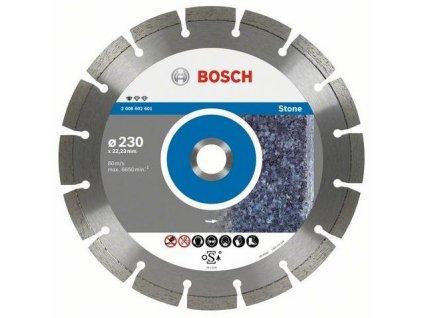 88066 bosch diamantovy kotuc 230 mm professional for stone 2608602601