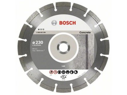 88171 bosch diamantovy kotuc 230 mm professional for concrete 2608602200