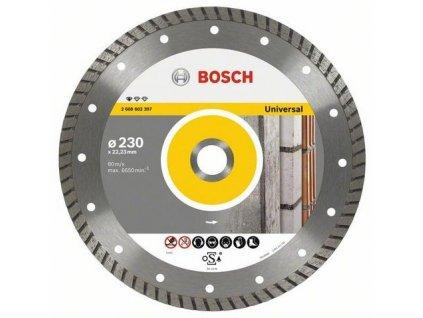 88273 bosch diamantovy kotuc 180 mm professional for universal turbo 2608602396