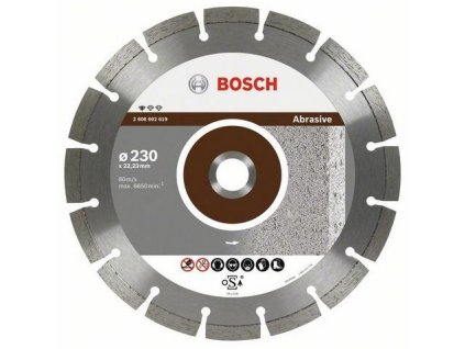 88372 bosch diamantovy kotuc 230 mm professional for abrasive 2608602619