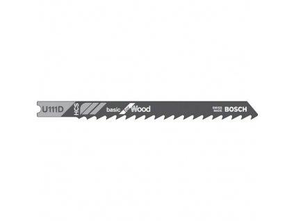 90283 pilove listy bosch basic for wood u 111 d 3 ks 2608637559