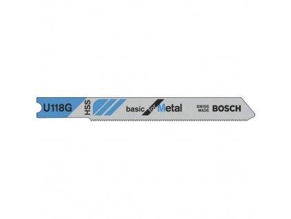 90307 pilove listy bosch basic for metal u 118 g 3 ks 2608631770