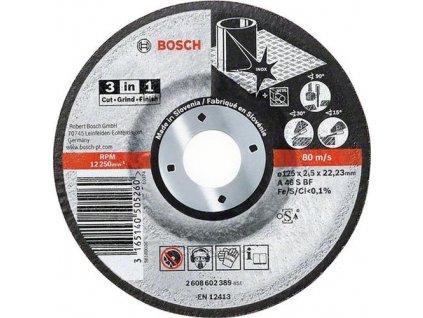 90631 rezaci kotuc bosch 3 v 1 s prielisom pr 125 mm 2608602389