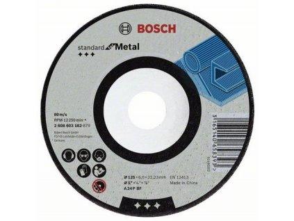 90760 brusny kotuc bosch standard na kovy hr 6 mm pr 125 mm 2608603182