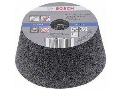 90811 konicka brusna miska bosch na kamen a beton p 60 1608600241