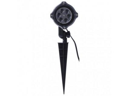 LED dekoratívny projektor - vločky, vonkajší ZY2373