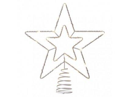 Spojovacia Standard LED vianočná hviezda, 28cm, teplá biela ZY2379