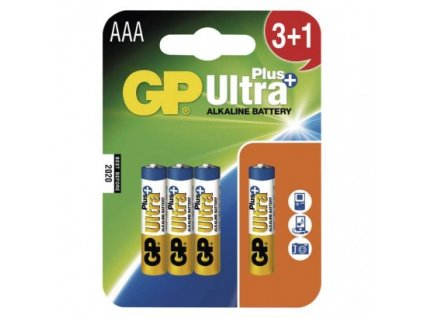 Alkalická batéria GP Ultra Plus LR03 (AAA) B1711N