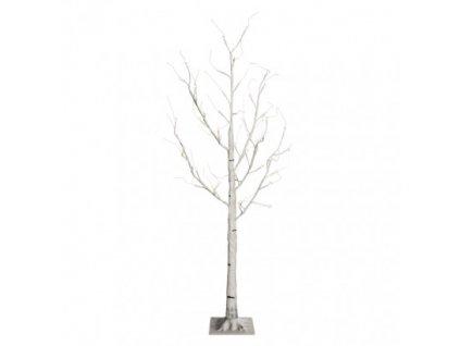 LED vianočný stromček – breza, 120cm, vonk., teplá b., č. ZY2138T