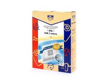 Vrecká do vysávača K&M 38.1 micro