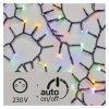LED vianočná reťaz – strapec, vonkajšia, 12m,multicolor,čas. ZY2187T