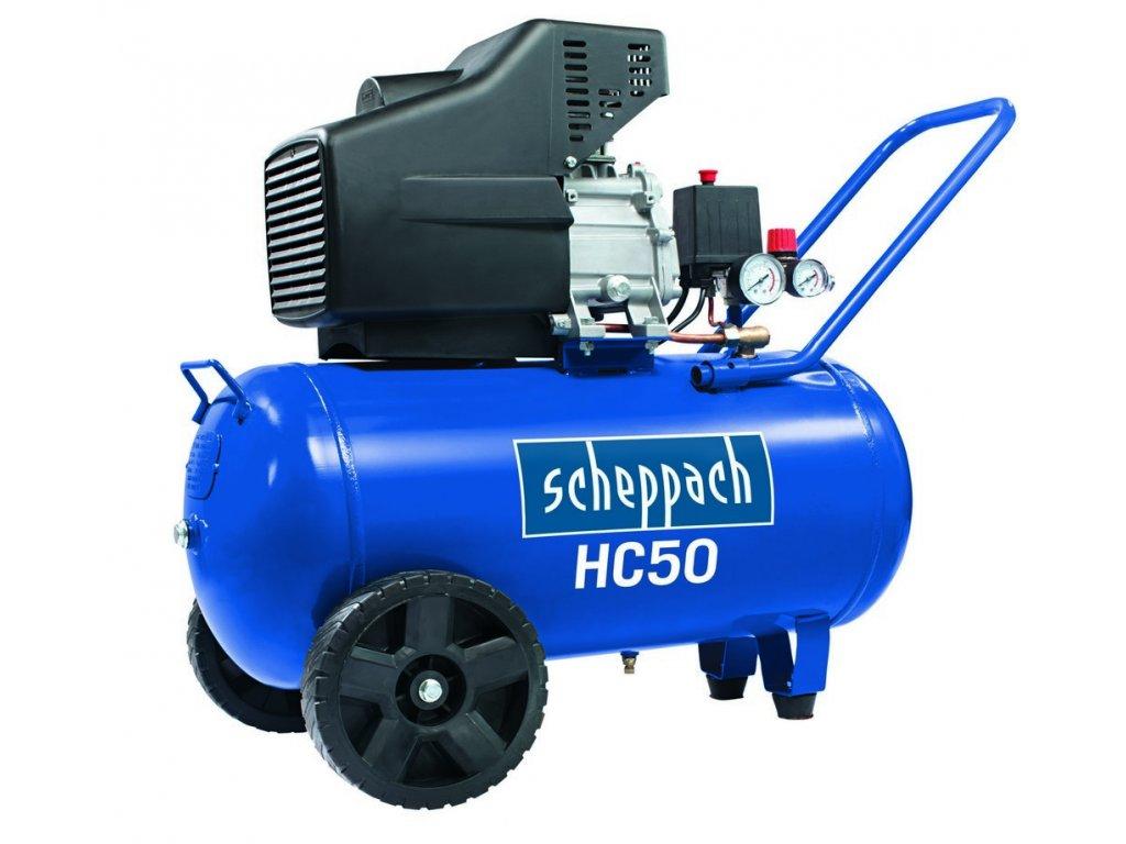 Scheppach HC 50 - olejový kompresor