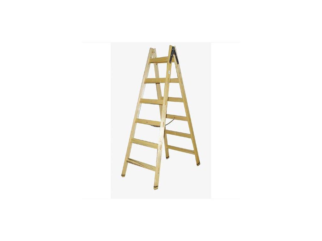štafle technické 10 př. 3,1m dřevěné