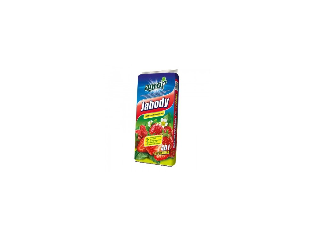 AGRO Substrát pro jahody 40 + 5 l ZDARMA