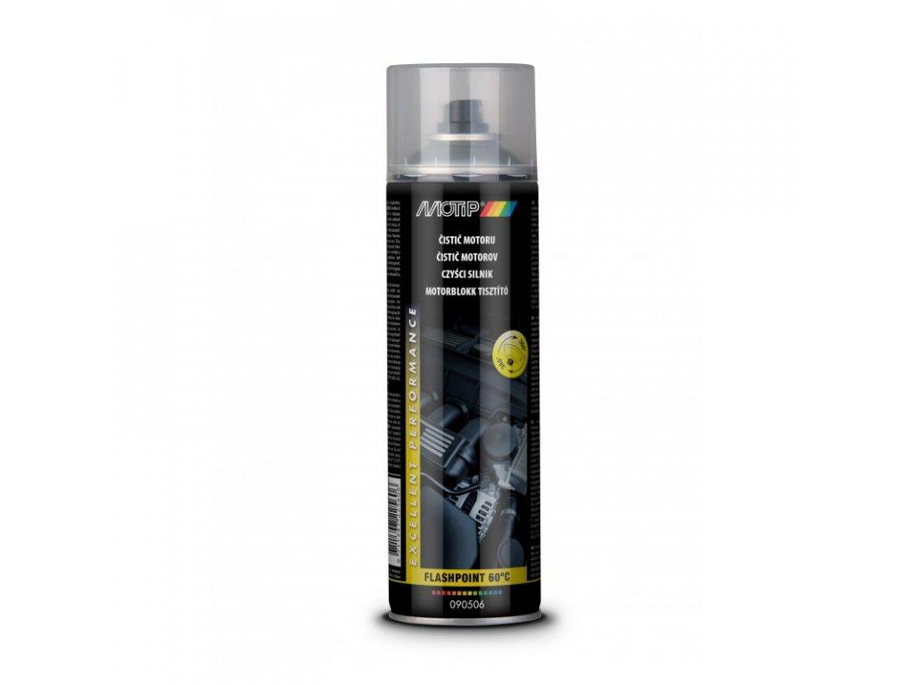 Čistič motoru Motip - sprej 500 ml