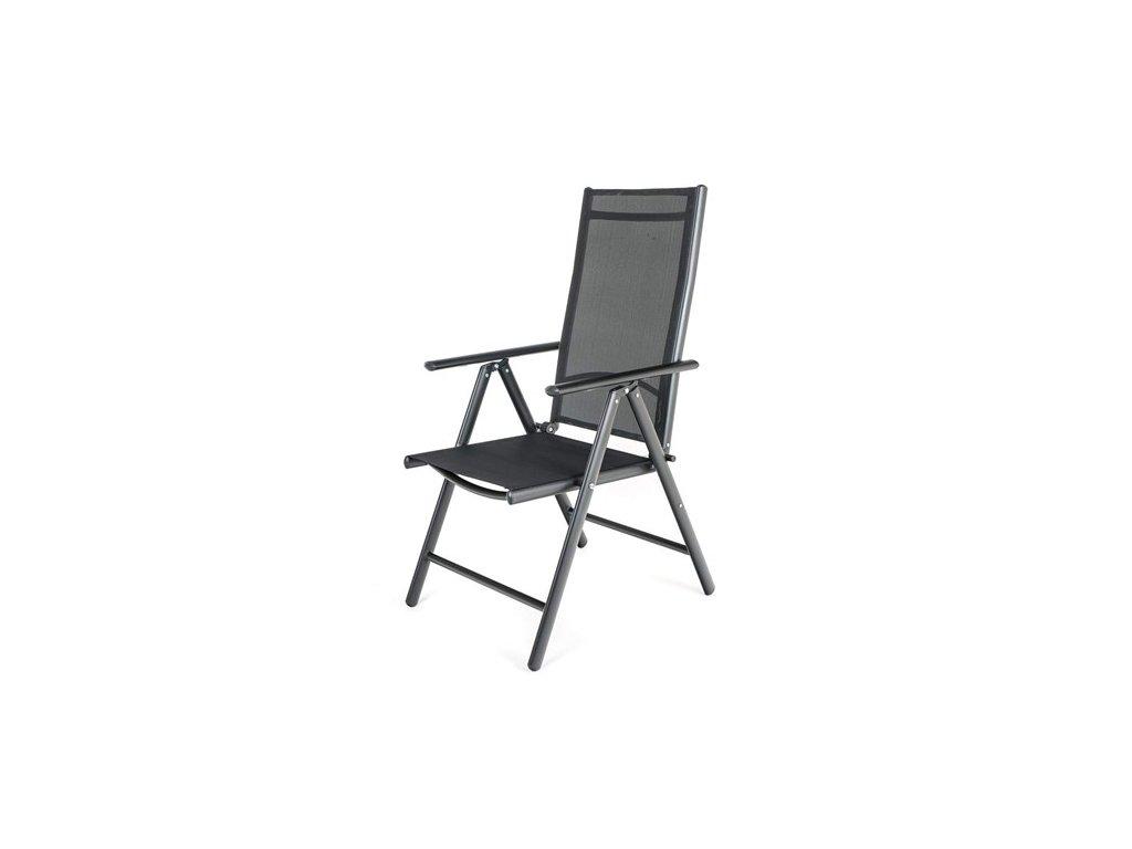 HAPPY GREEN Židle polohovací RAMADA 56,5 x 42,5 x 107 cm