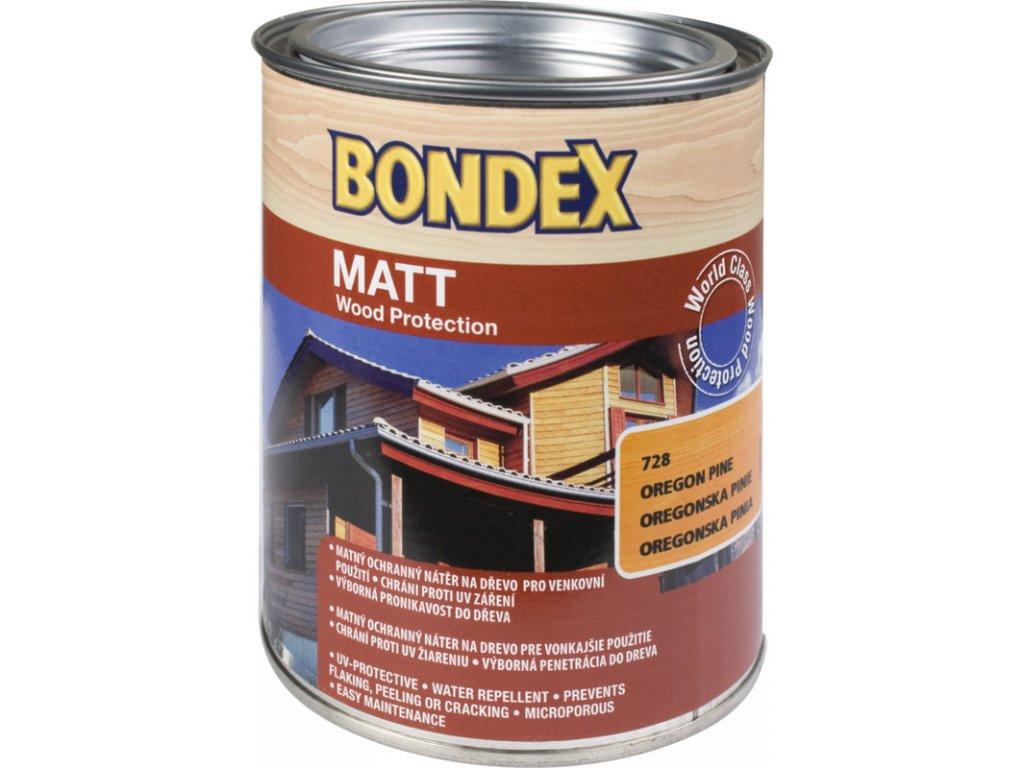 Bondex MATT lazura - BEZBARVÁ - 0,75 L