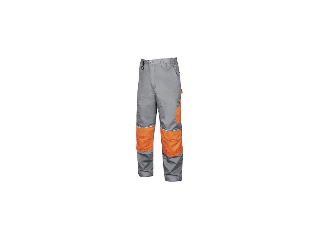 Kalhoty do pasu Ardon 2STRONG šedo-oranžové