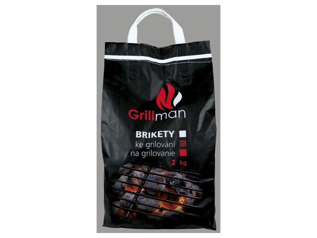 GRILLMAN grilovací brikety 2 kg