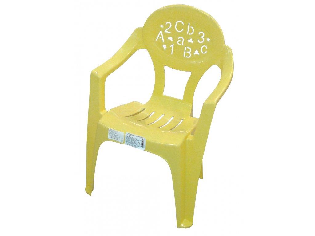 Židle dětské - barevné