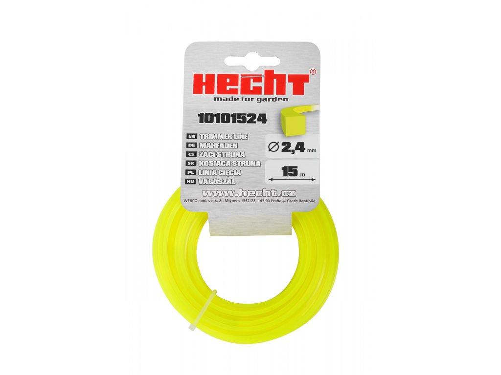 HECHT 10101524 - struna čtvercová 2,4 mm x 15 m