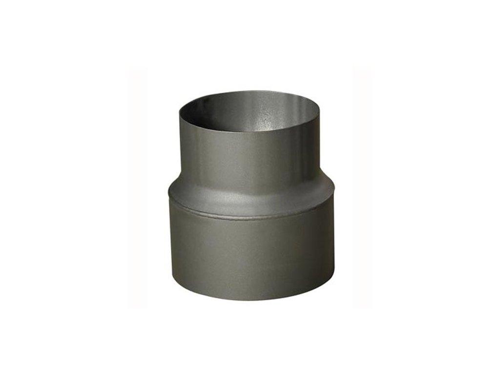 redukce trubková 150/130mm (d.160mm) t.1,5mm ANTR.