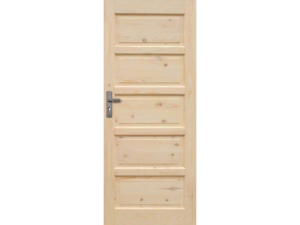 Interiérové dveře ILAWA Masiv - plné - 90 cm