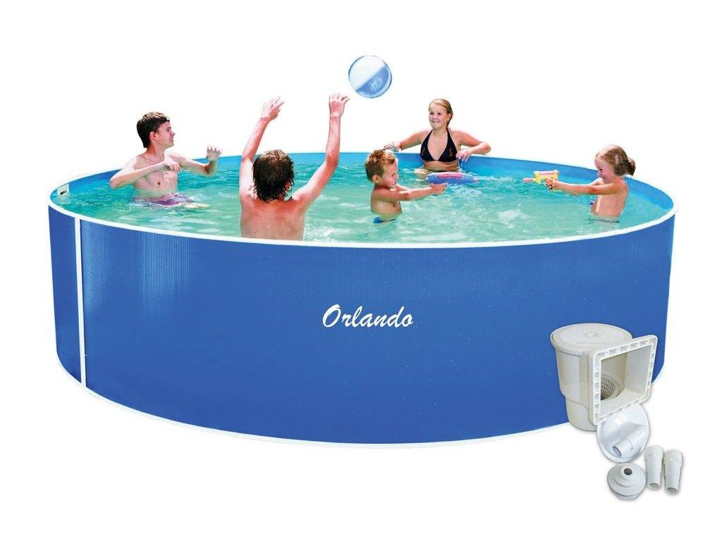 Bazén Orlando 4,57x1,07m + skimmer Olympic (bez hadic a schůdků)