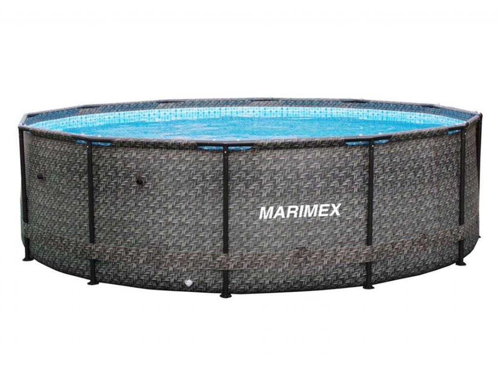 Bazén Florida 3,66x0,99 m bez příslušenství - motiv RATAN