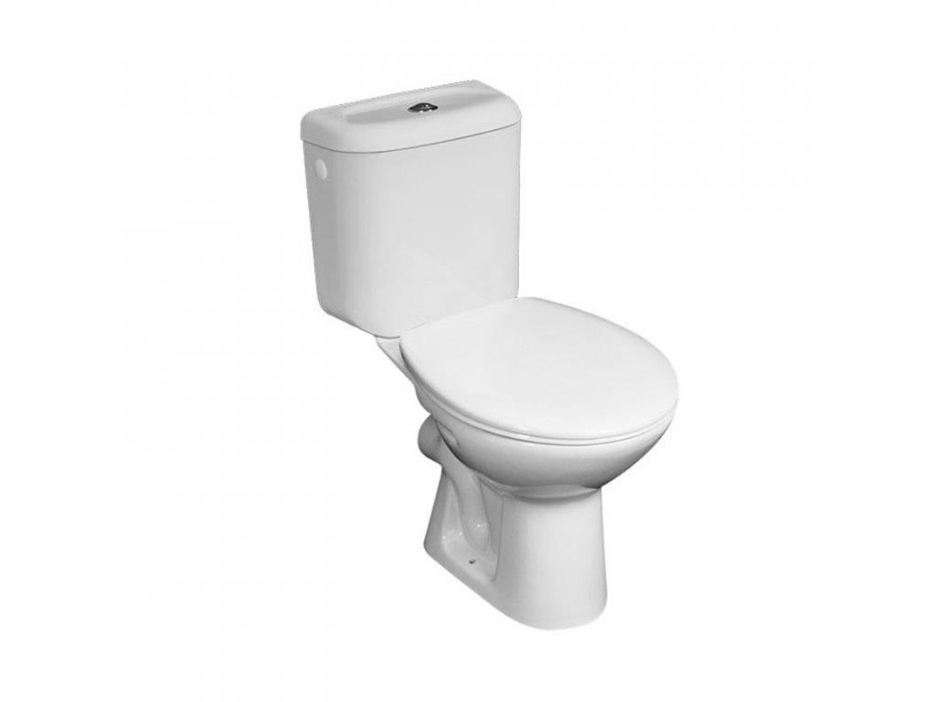 WC kombi se zadním odpadem VSD90