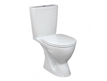 Neo WC Kombi, zadní odpad s armaturou,dvojité splachování, v