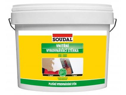 SOUDAL - vnitřní vyrovnávací stěrka - 1,5 kg