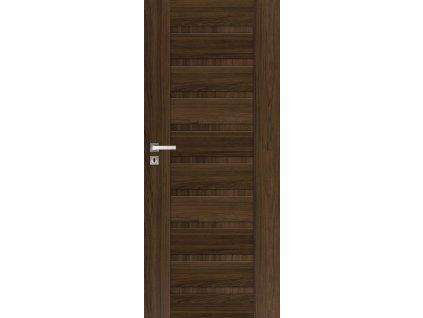 Interiérové dveře INGE - Jilm tabák