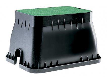 Claber 90510 - obdélníková šachta pro 5 solenoidních ventilů
