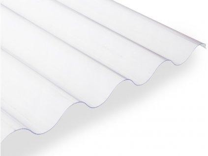 Polyvinylchloridová vlnitá deska Guttagliss PVC - čirá