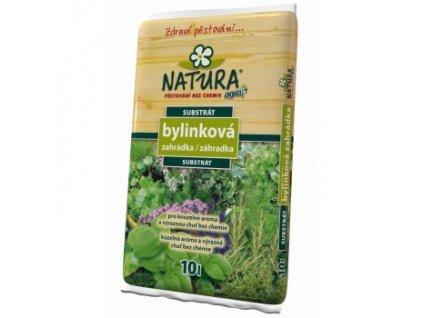 NATURA Substrát bylinková zahrádka 10 L
