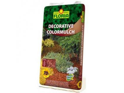 FLORIA Decorative ColorMulch HNĚDÁ 70 L