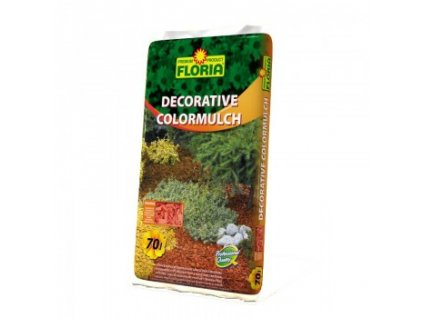 FLORIA Decorative ColorMulch ORANŽOVÁ 70 L
