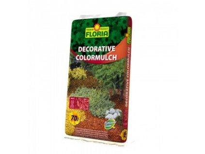 FLORIA Decorative ColorMulch CIHLOVÁ 70 L