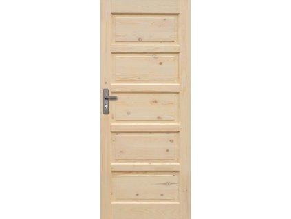 Interiérové dveře ILAWA Masiv - plné - 80 cm